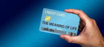 Impressão de cartão de crédito